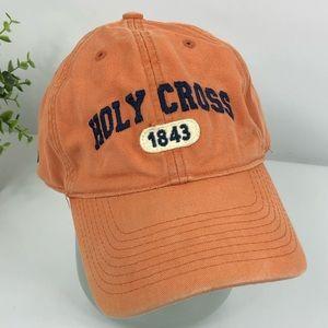 Holy cross 1843 orange hat